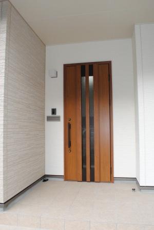 採風式玄関ドア